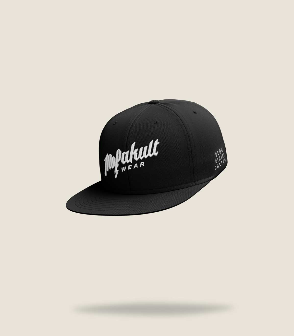 Mofakultwear Snapback Cap Black