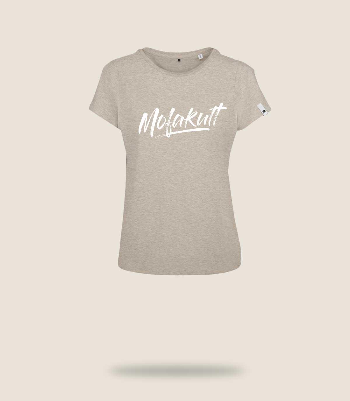 Mofakultwear Woman Shirt Sand